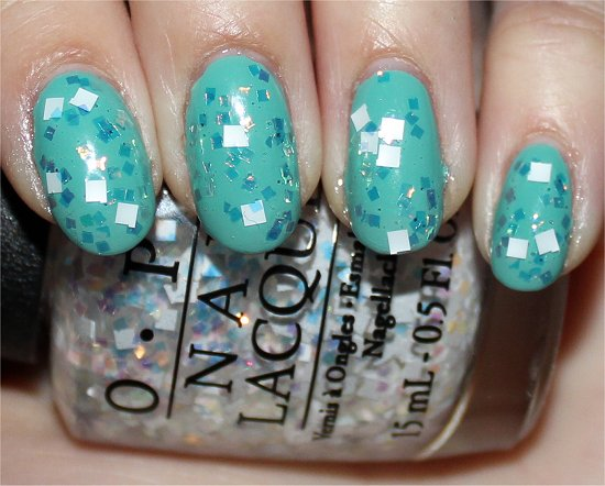 OPI Lights of Emerald City Swatch & Review
