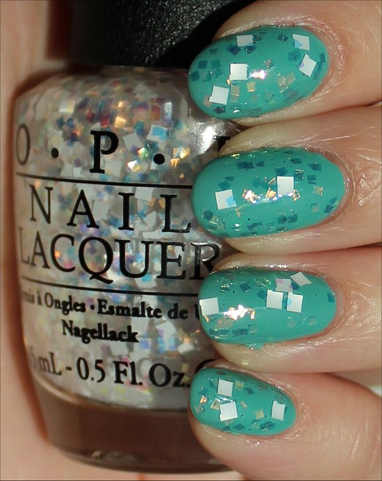 OPI Lights of Emerald City Swatches & Review