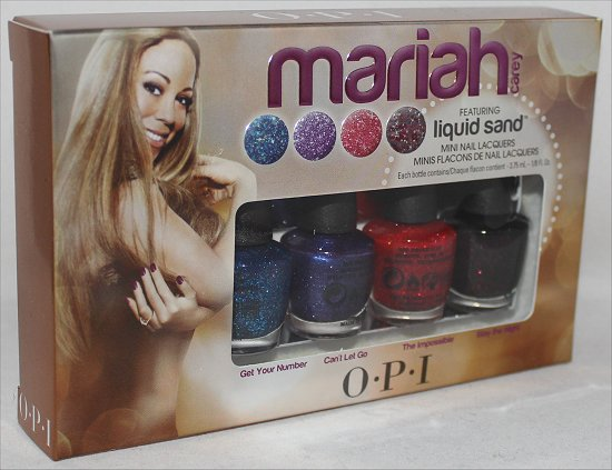 OPI Mariah Carey Liquid Sand Nail Polish Giveaway