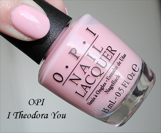 OPI Oz Collection Swatches OPI I Theodora You Swatch