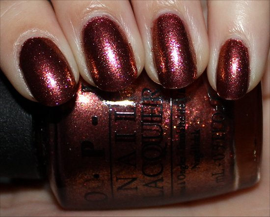 OPI Sprung Review & Swatch