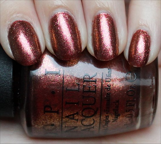 OPI Sprung Swatch, Pictures & Review