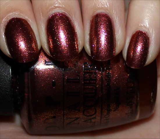 OPI Sprung Swatch & Review
