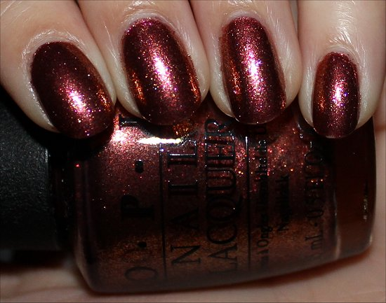 OPI Sprung Swatches & Review