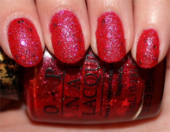 OPI The Impossible Liquid Sand Swatch