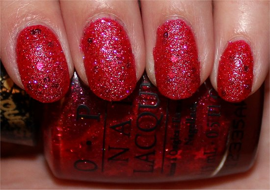 OPI The Impossible Liquid Sand Swatches