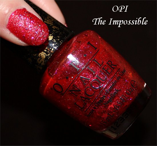 OPI The Impossible Swatch & Pics