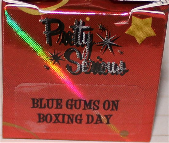 Pretty Serious Blue Gums on Boxing Day Pics