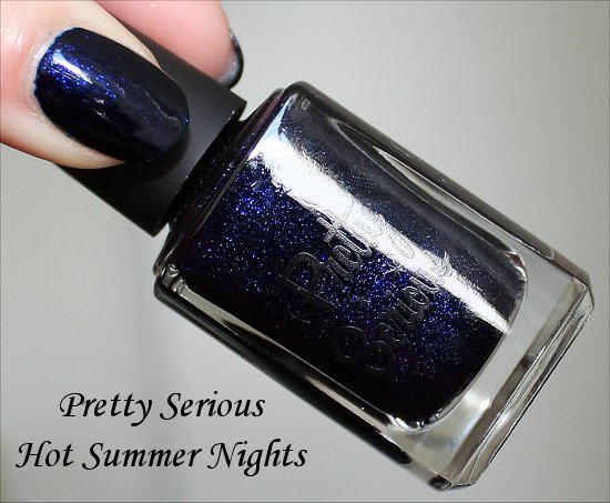 Pretty Serious Hot Summer Nights Christmas Without Snow Collection Swatch