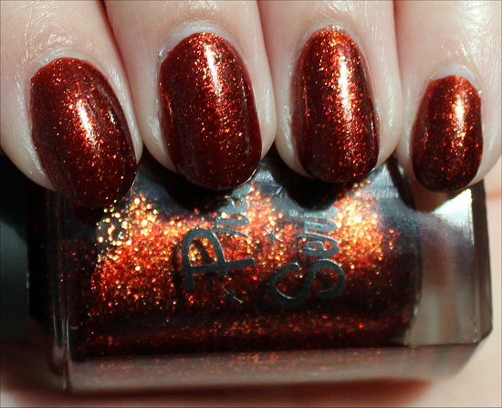Pretty Serious Seasonal Sunset Swatch & Review