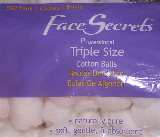 Sally Beauty Supply Haul Face Secrets Professional Triple Size Cotton Balls Pictures
