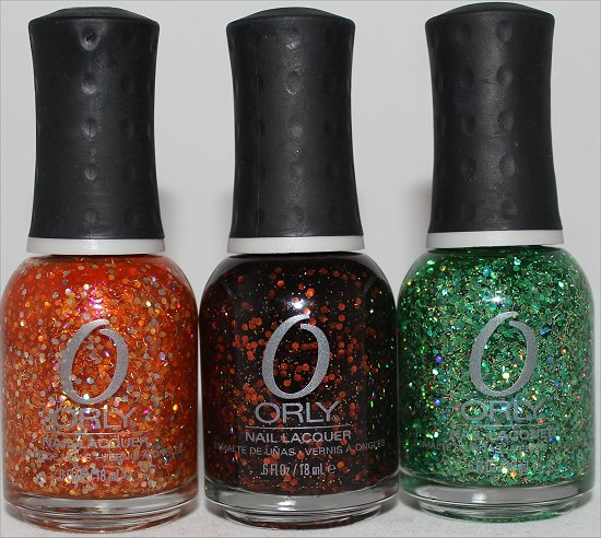 Sally Beauty Supply Haul Orly Right Amount of Evil, Orly R.I.P. & Orly Monster Mash