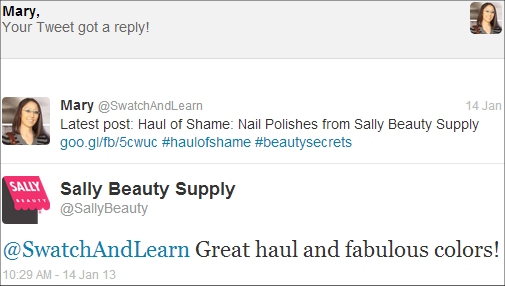Sally Beauty Supply SwatchAndLearn