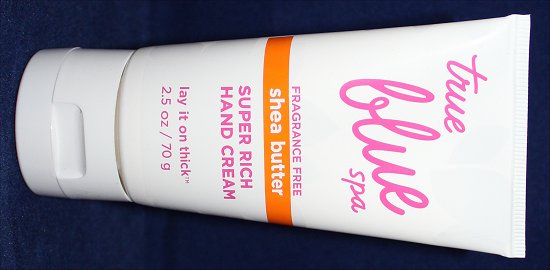 True Blue Spa Super Rich Hand Cream Lay It On Thick Fragrance Free Pictures & Review