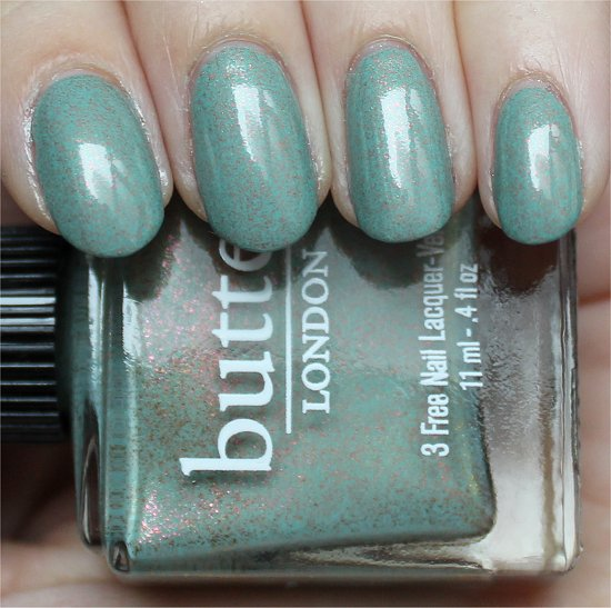 Two Fingered Salute Butter London Nail Polish Swatches