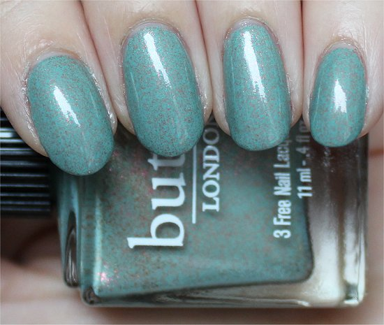 Two Fingered Salute Butter London Swatches