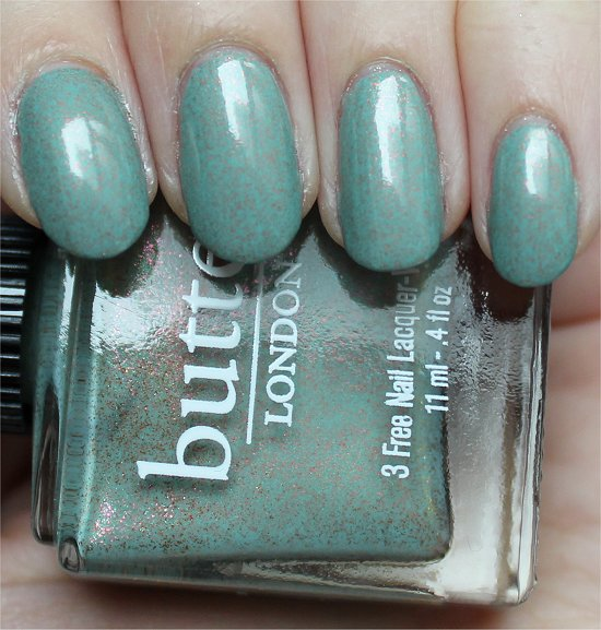 Two Fingered Salute by Butter London Swatch