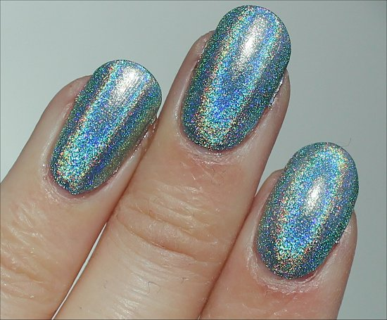 Urban Outfitters Green Holo Swatch & Review