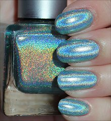 Urban Outfitters Green Holo Swatches & Review