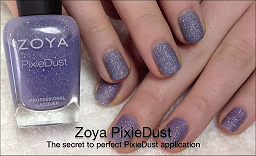 Zoya PixieDust Press Release & Video Clip smaller