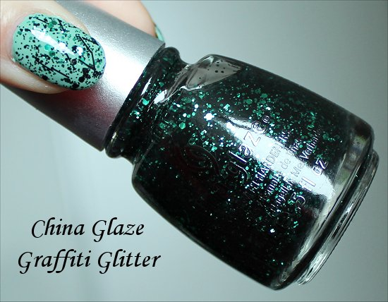 China Glaze Graffiti Glitter Glitz n Pieces Collection
