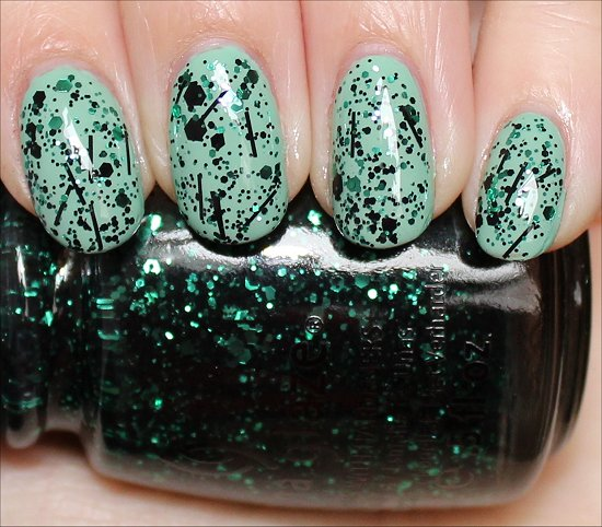 China Glaze Graffiti Glitter Pictures