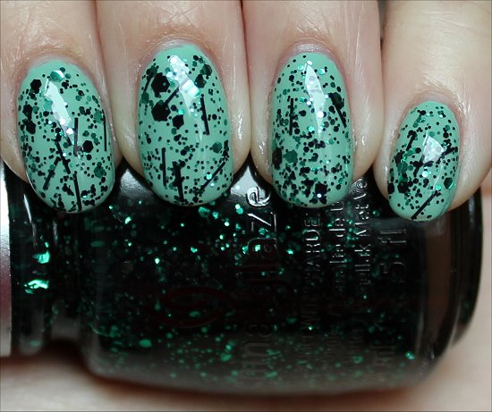 China Glaze Graffiti Glitter Review & Swatches