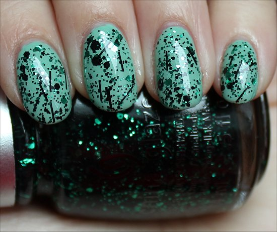 China Glaze Graffiti Glitter Swatch & Review
