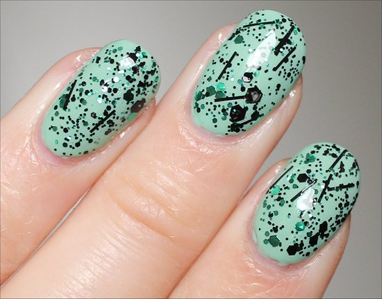 China Glaze Graffiti Glitter Swatch