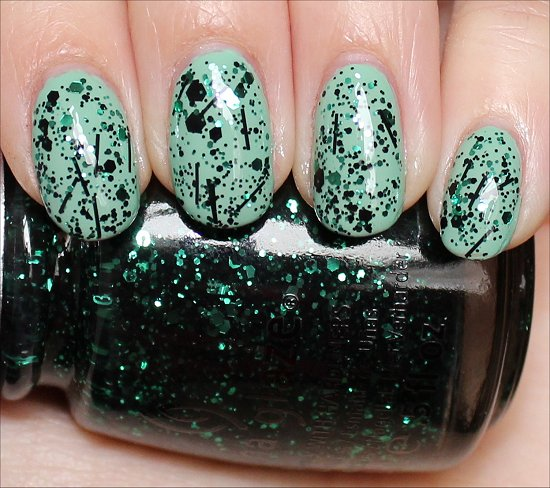 China Glaze Graffiti Glitter Swatches, Review & Photos