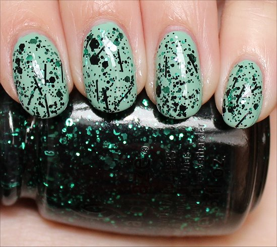 China Glaze Graffiti Glitter Swatches & Review