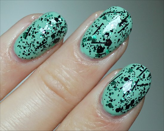 China Glaze Graffiti Glitter Swatches