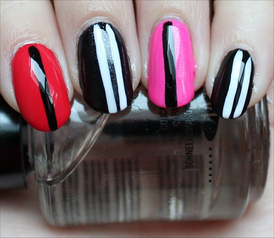 Easy Valentine's Day Nail Art