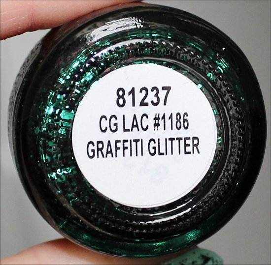 Graffiti Glitter China Glaze Glitz Bitz n Pieces Collection