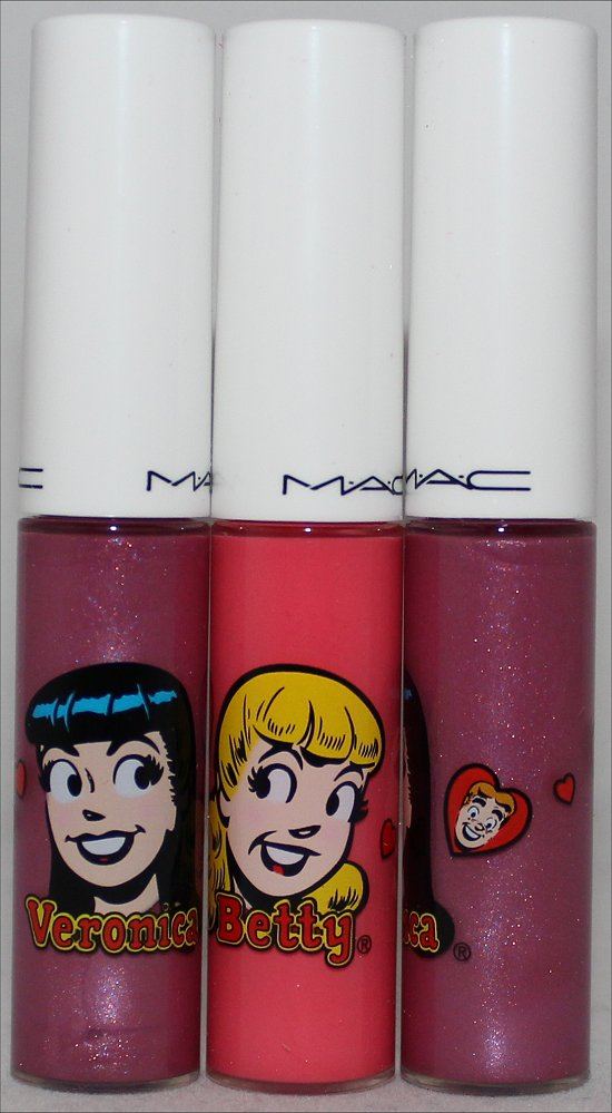 MAC Mall Madness Lipglass MAC Kiss & Don't Tell Lipglass Haul