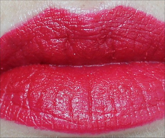 MAC Ronnie Red Lipstick Swatch