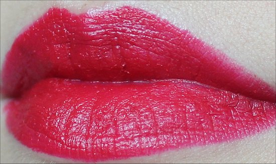 MAC Ronnie Red Lipstick Swatches