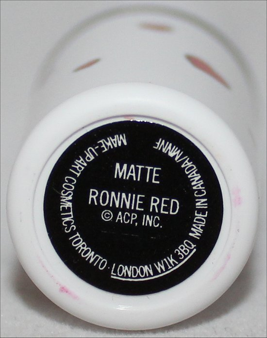 MAC Ronnie Red Photos