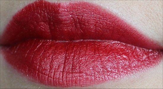 Milani Cherry Crave Lipstick Swatch & Review
