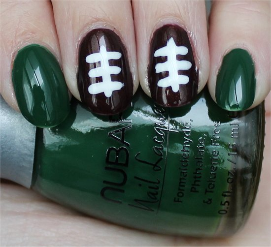 Nails Football Nail Art Tutorial