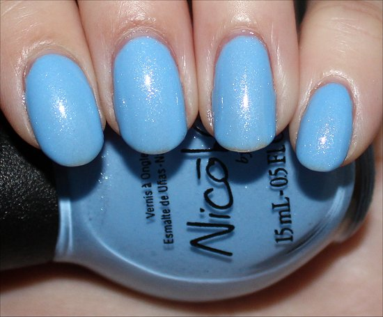 Nicole by OPI Stand by Your Manny Review & Swatch
