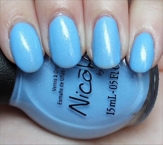 Nicole by OPI Stand by Your Manny Swatch & Review