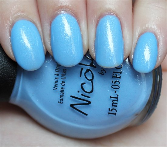 Nicole by OPI Stand by Your Manny Swatches & Review