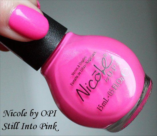Nicole by OPI Still Into Pink Pictures