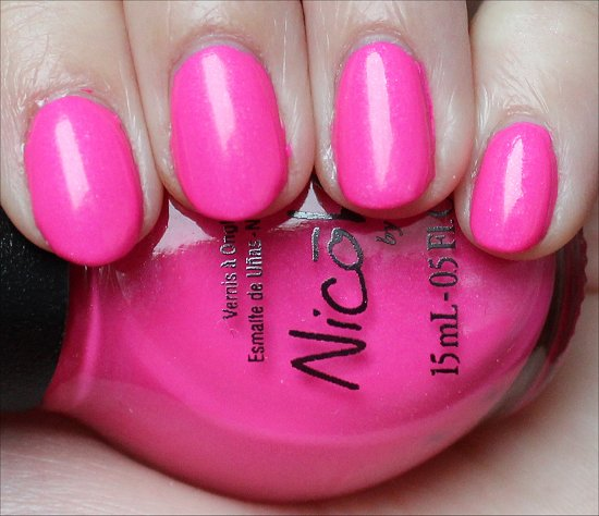 Nicole by OPI Still Into Pink Review & Swatch