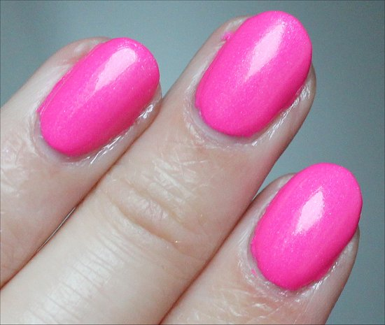 Nicole by OPI Still Into Pink Review & Swatches