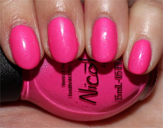 Nicole by OPI Still Into Pink Swatch, Review & Photos