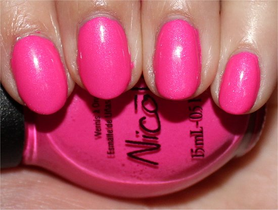 Nicole by OPI Still Into Pink Swatches, Review & Photos