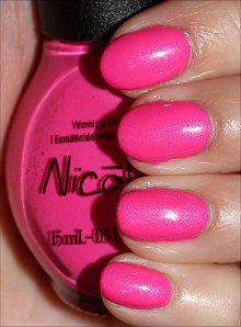 Nicole by OPI Still Into Pink Swatches & Review