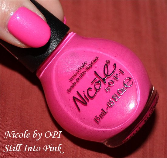 Nicole by OPI Still Into Pink